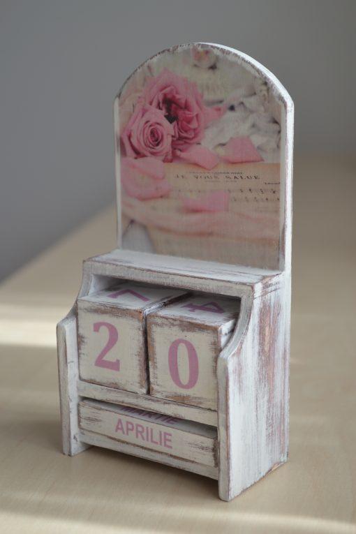 Calendar Handmade - Vintage Rose