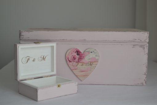 Vintage Rose – Cutiuta verighete