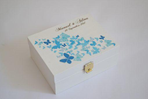 cutie personalizata verighete