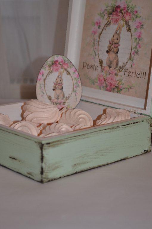 Happy Bunny- Caseta lemn